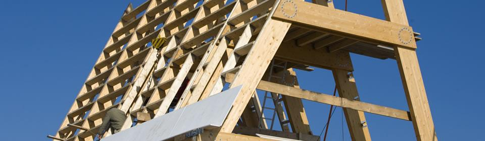 raamwerk van dak